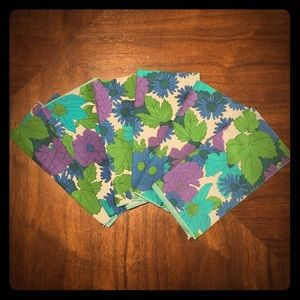 (6) Vintage Cloth Napkins